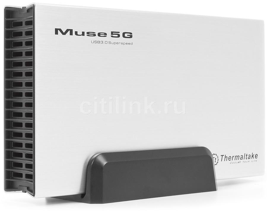 Внешний корпус для  HDD THERMALTAKE Muse 5G ST0042Е, серебристый