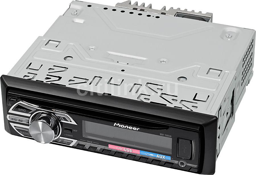 Автомагнитола PIONEER DEH-1500UBG,  USB
