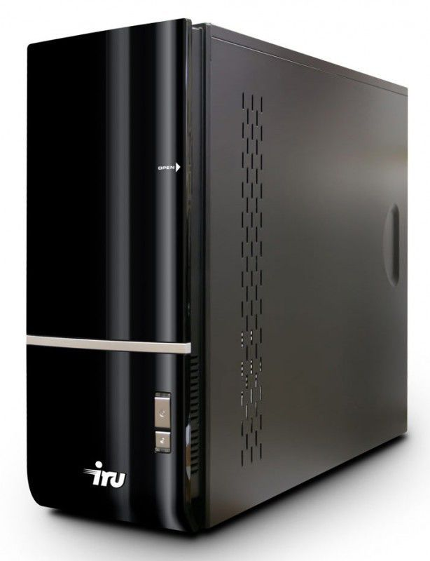 Компьютер  IRU Home 515,  Intel  Core i5  3470,  DDR3 6Гб, 500Гб,  nVIDIA GeForce GTX 660 - 2048 Мб,  DVD-RW,  CR,  Free DOS,  черный