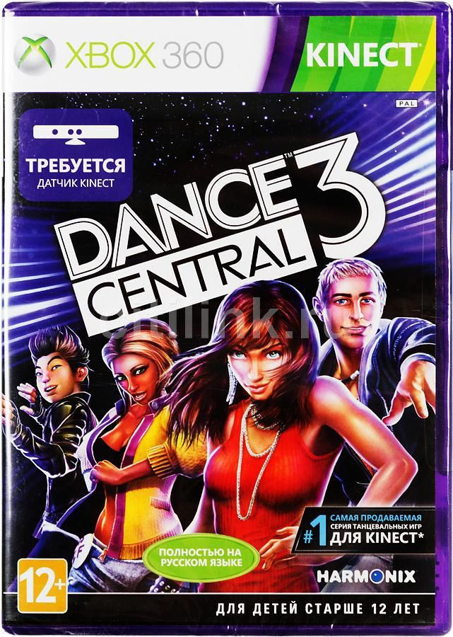 Игра MICROSOFT Dance Central 3 для  Xbox360 Eng