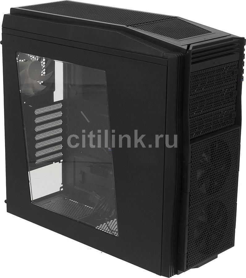 Корпус ATX NZXT Tempest 410 Elite, Midi-Tower, без БП,  черный