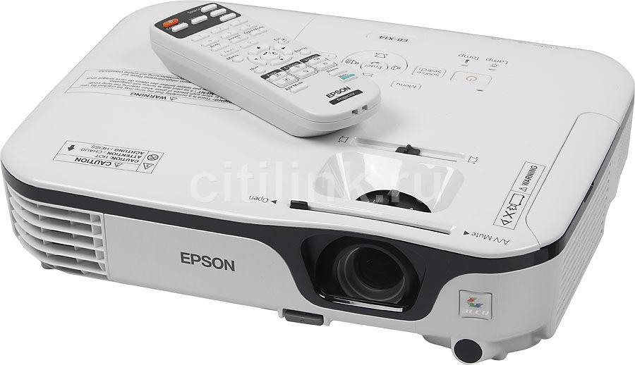 Проектор EPSON EB-X14 белый [v11h434040]