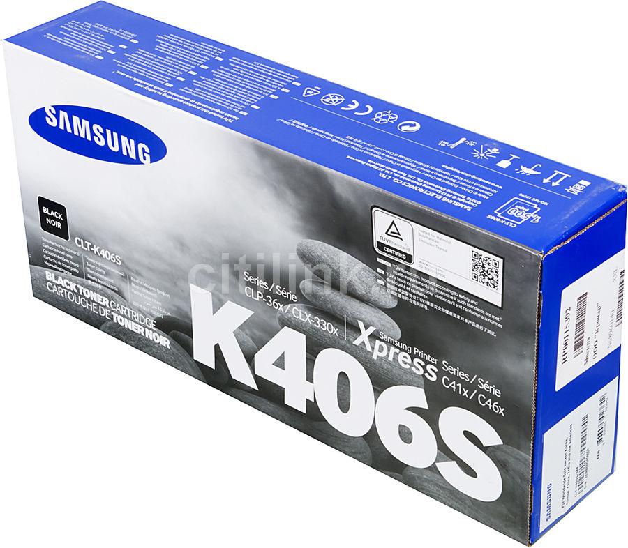 Картридж SAMSUNG CLT-K406S черный [clt-k406s/see]