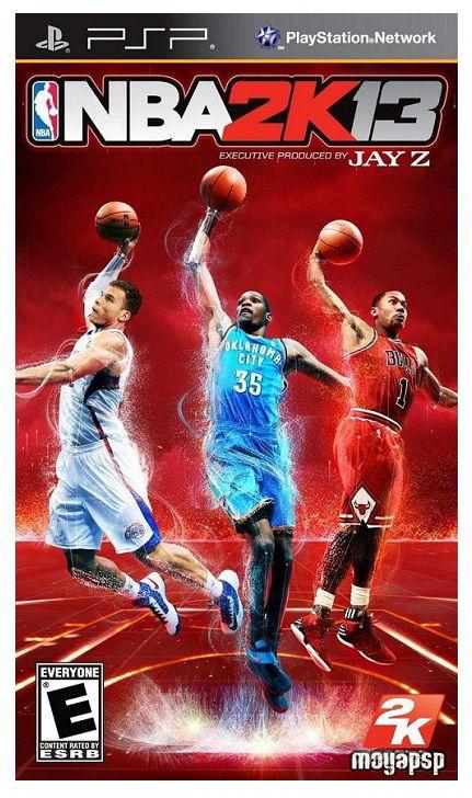 Игра SOFT CLUB NBA 2K13 для  PSP Eng