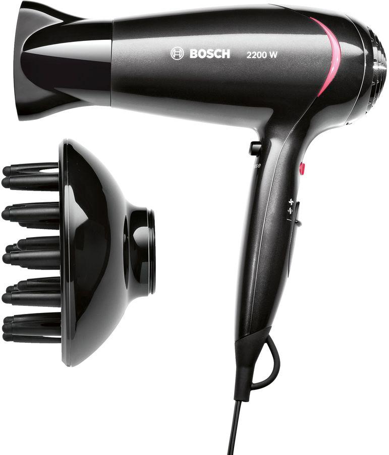 Фен BOSCH PHD5962, 2200Вт, черный