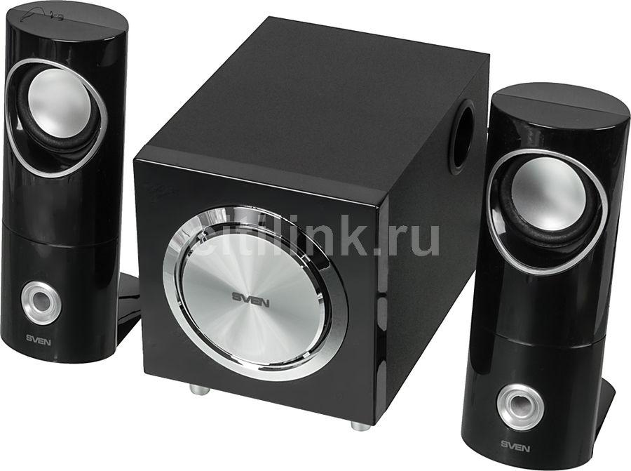 Колонки SVEN MS-103,  черный [sv-0130103bk]