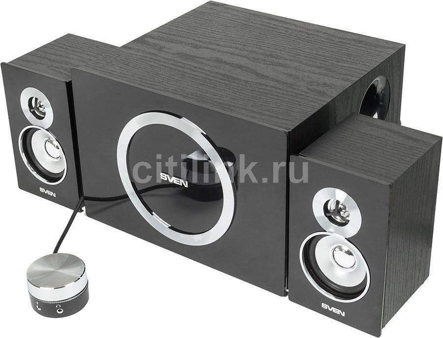 Колонки SVEN MS-1085,  черный [sv-01301085bk]