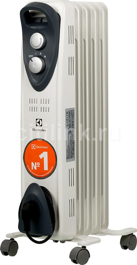 Масляный радиатор ELECTROLUX EOH/M-3105, 1000Вт, белый