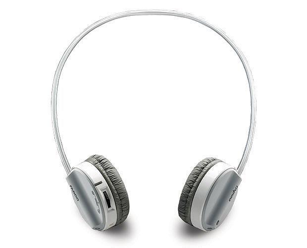 Наушники с микрофоном RAPOO H6020,  накладные, bluetooth,  серый  [10813]
