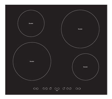Варочная поверхность ARDO PI58F,  индукционная,  независимая,  черный
