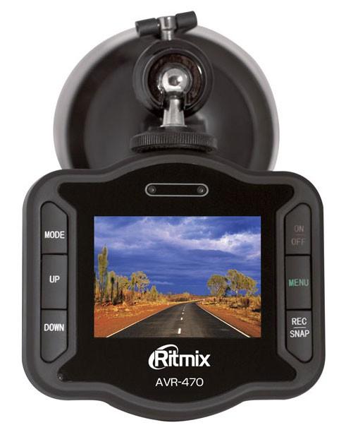 Видеорегистратор RITMIX AVR-470 черный