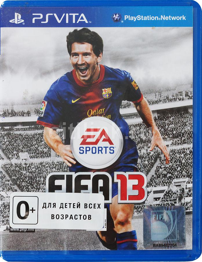 Игра SOFT CLUB FIFA 13 для  PlayStation Vita Rus (документация)