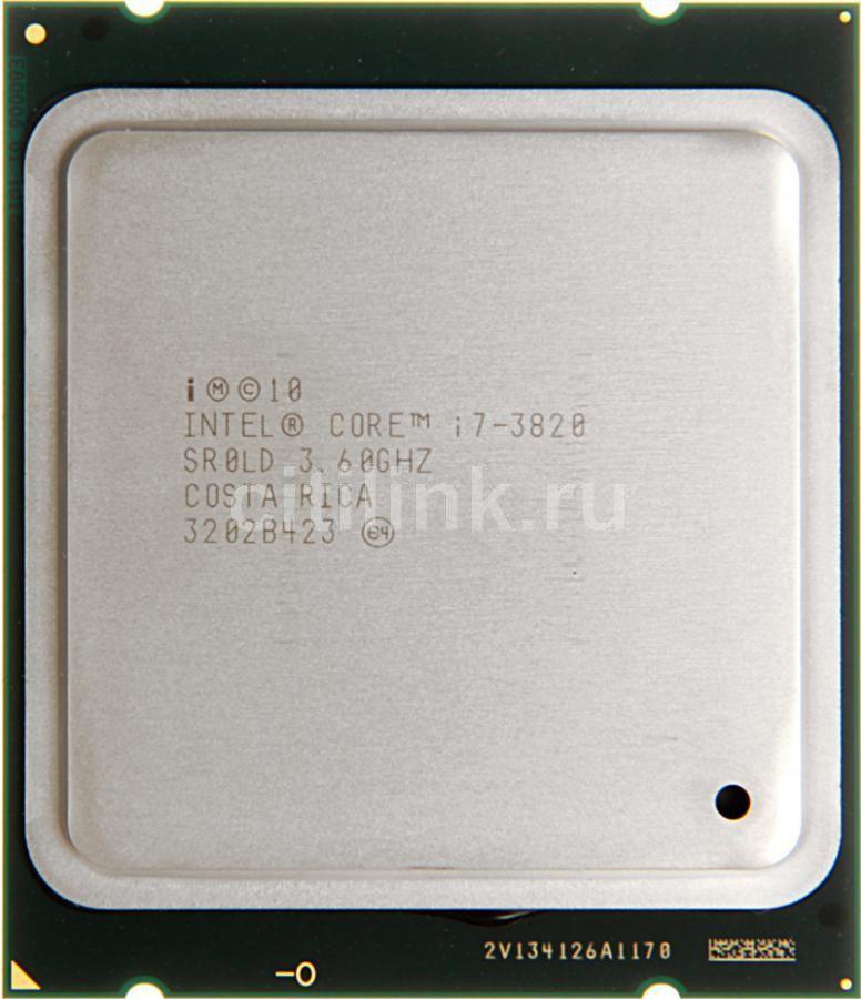 Процессор INTEL Core i7 3820, LGA 2011 OEM [cpu intel lga2011 i7-3820 oem]