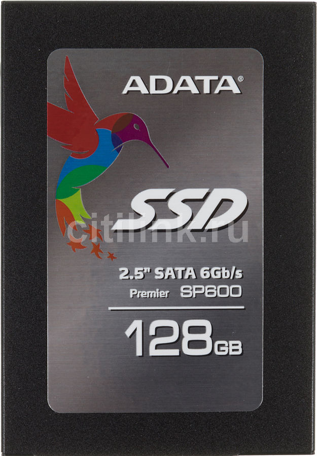 Накопитель SSD A-DATA Premier Pro SP600 ASP600S3-128GM-C 128Гб, 2.5
