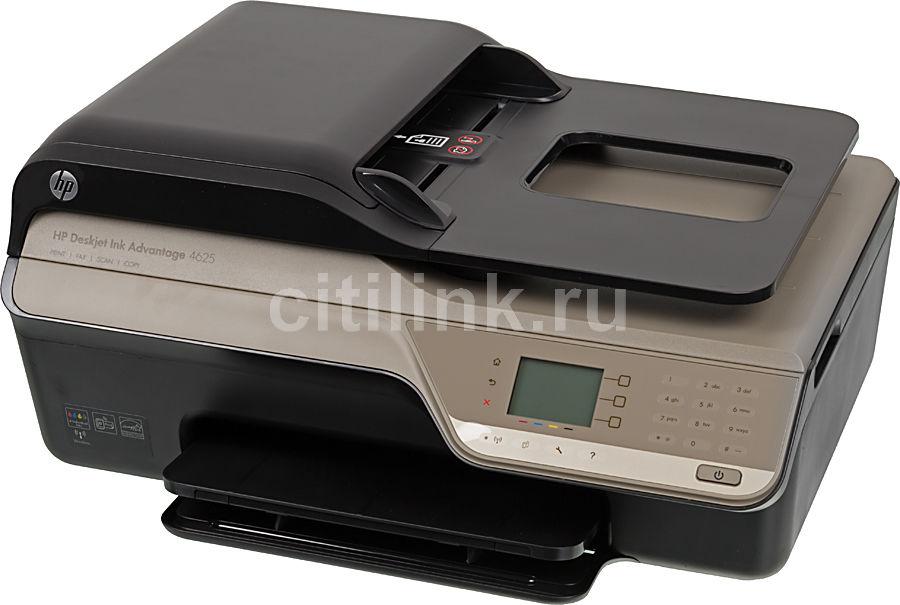 МФУ HP DeskJet Ink Advantage 4625, A4, цветной, струйный, черный [cz284c]