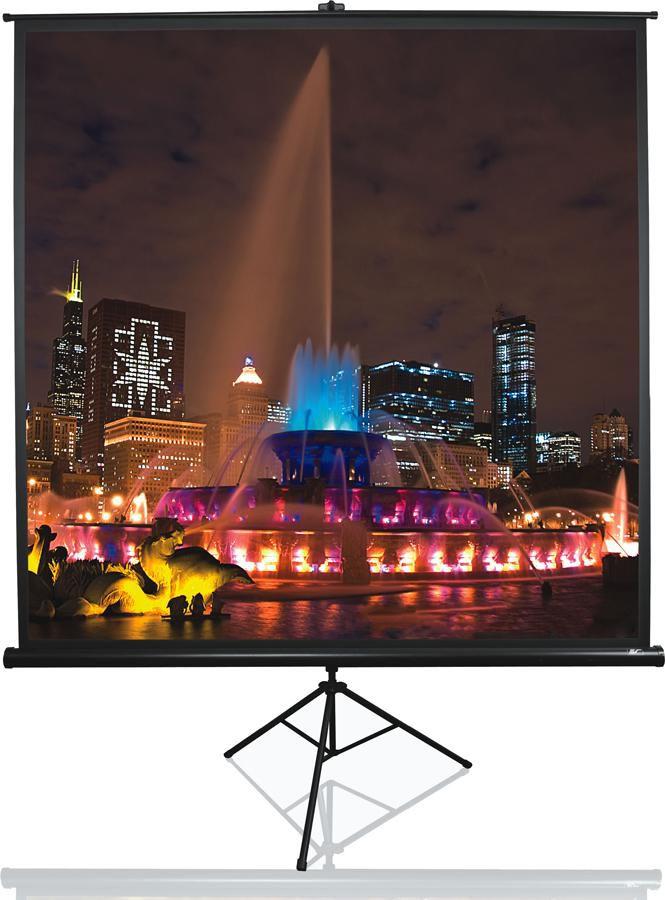 Экран ELITE SCREENS Tripod T71UWS1,  127х127 см, 1:1,  напольный черный