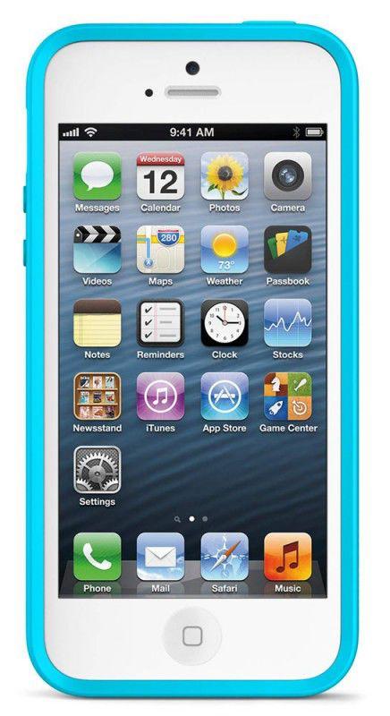 Чехол (клип-кейс) BELKIN F8W153vfC04, для Apple iPhone 5, синий