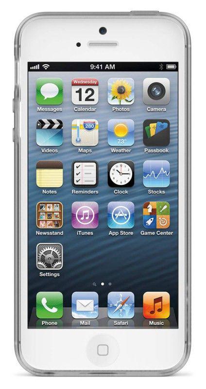 Чехол (клип-кейс) BELKIN F8W157vfC01, для Apple iPhone 5, прозрачный