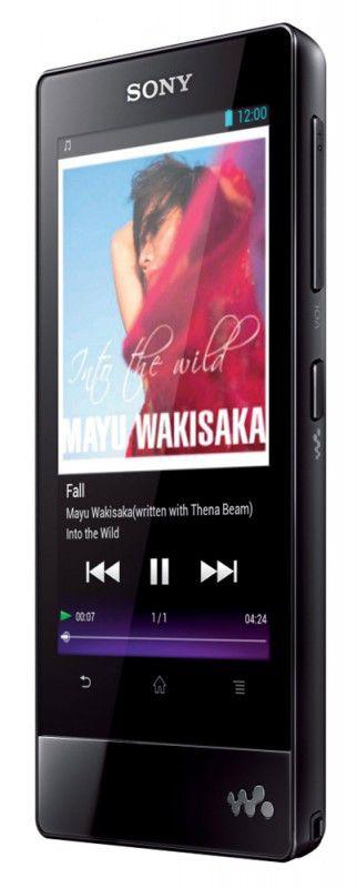 MP3 плеер SONY NWZ-F806 flash 32Гб черный [nwzf806b.ee]