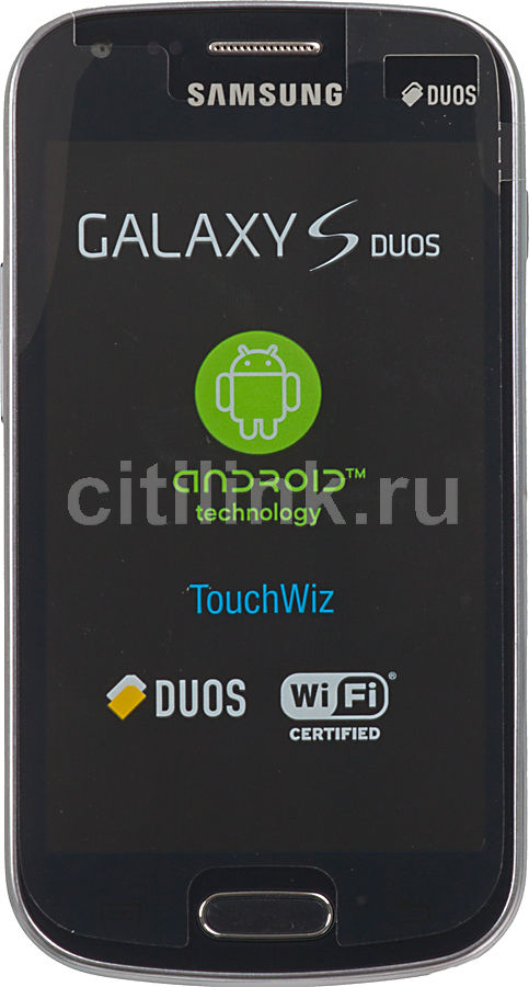 Смартфон SAMSUNG Galaxy S Duos GT-S7562  темно-синий