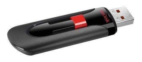 Флешка USB SANDISK Cruzer Glide 32Гб, USB2.0, черный [sdcz60-032g-b35]