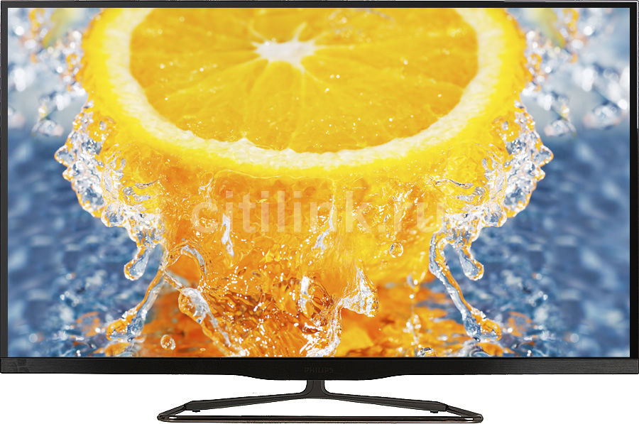 "LED телевизор PHILIPS 47PFL6907T/12  47"", 3D,  FULL HD (1080p),  черный"