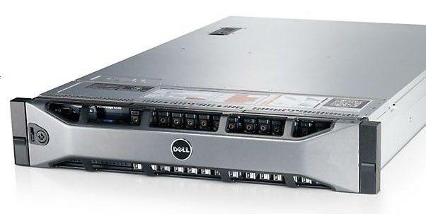 Сервер Dell PE R720 2xE5-2640/32(4x8 2RLVRDIM 1.3)/SAS 2x300G 3.5