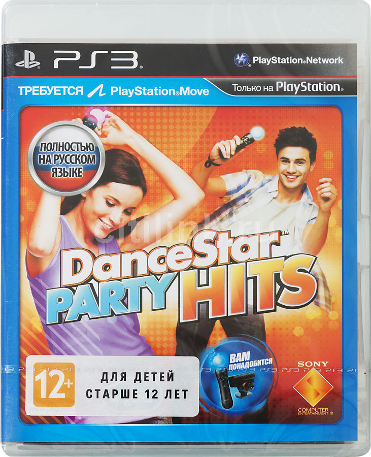 Игра SOFT CLUB DanceStar Party Hits для  PlayStation3 Rus (документация)