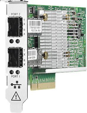 Адаптер HPE Ethernet 10Gb 2P 530SFP+ (652503-B21) адаптер hpe blc emulex lpe1205 8gb fc hba opt 456972 b21