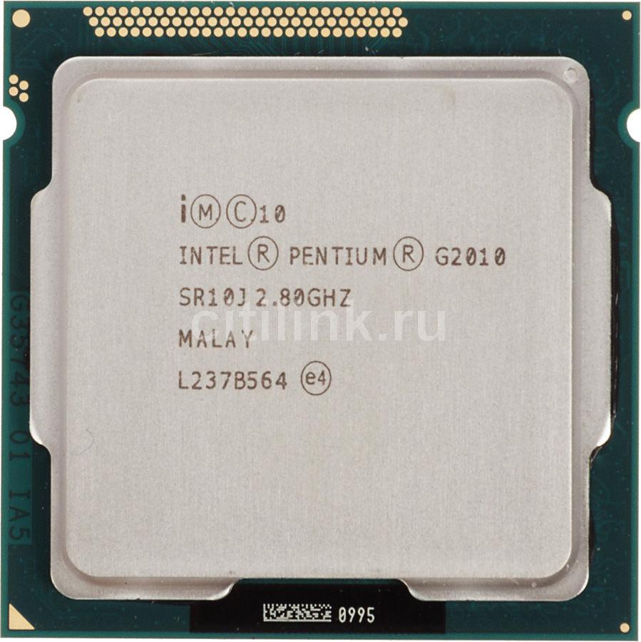 Процессор INTEL Pentium G2010, LGA 1155 OEM [cm8063701444800sr10j]