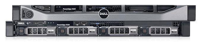 Сервер Dell PE R320 E5-2407 2.20/8GB 2RRDIM 1.6/SAS 300GB 15k3.5/H310/RW/iDR7En+PC/PSU/3YBWNBD [203-19434-1]