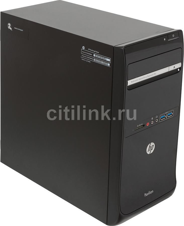 Компьютер  HP Pavilion p6-2356er,  Intel  Core i7  3770,  DDR3 8Гб, 2Тб,  AMD Radeon HD 7570 - 2048 Мб,  DVD-RW,  CR,  Windows 8,  черный [c3u75ea]