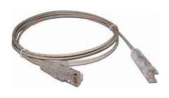 Кабель Патч-корд Lanmaster UTP (LAN-45-P1-1M) вилка RJ-45-110 1м серый ПВХ (уп.:1шт)