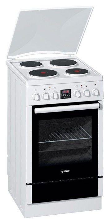 Электрическая плита GORENJE E55329AW,  эмаль,  белый