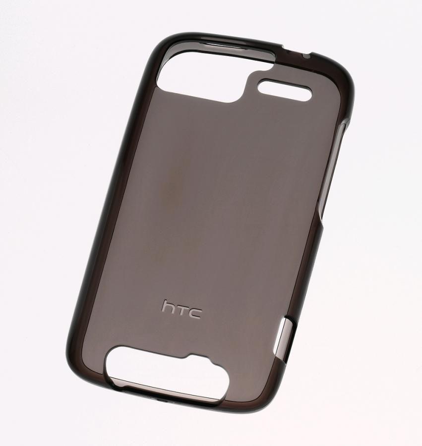 Чехол (клип-кейс) HTC TP C620, для HTC Sensation, черный (прозрачный)