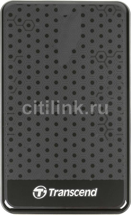 Внешний жесткий диск TRANSCEND StoreJet 25A3 TS1TSJ25A3K, 1Тб, черный