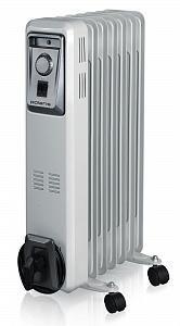 Масляный радиатор POLARIS PRE R 0715, 1500Вт, черный