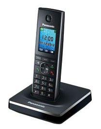 Радиотелефон PANASONIC KX-TG8551RUB,  черный