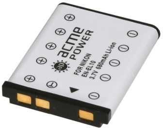 Аккумулятор ACMEPOWER AP-EN-EL10, Li-Ion,  3.6В,  660мAч,  для компактных камер