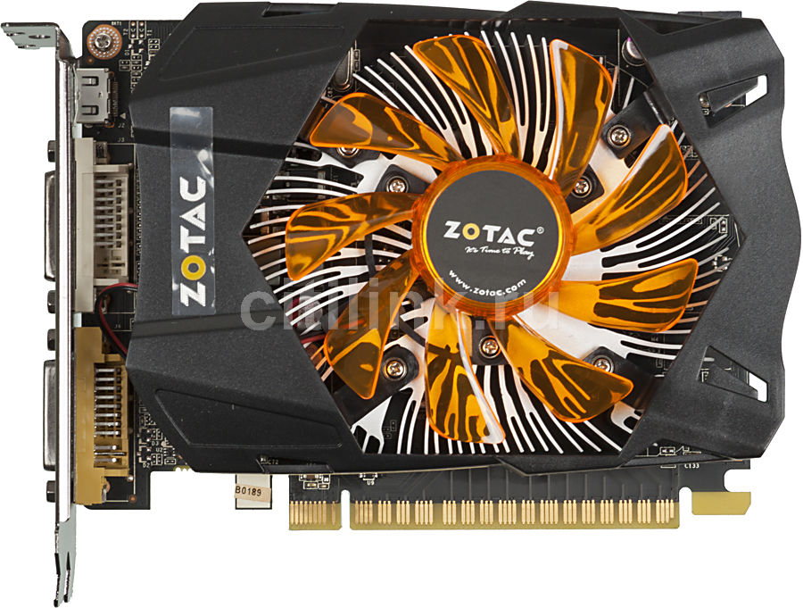 Видеокарта ZOTAC GeForce GTX 650,  1Гб, GDDR5, Ret [zt-61001-10m]