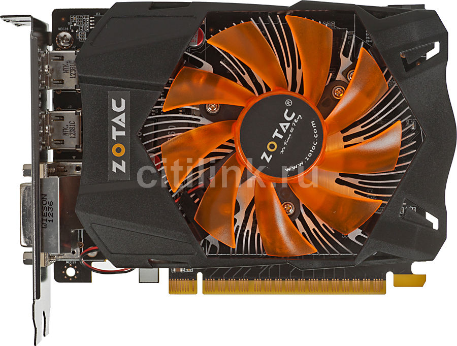 Видеокарта ZOTAC GeForce GTX 650Ti,  2Гб, GDDR5, Ret [zt-61102-10m]