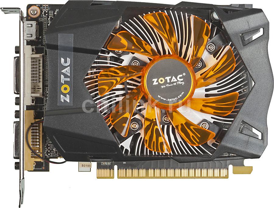 Видеокарта ZOTAC nVidia  GeForce GTX 650Ti ,  1Гб, GDDR5, Ret [zt-61101-10m]