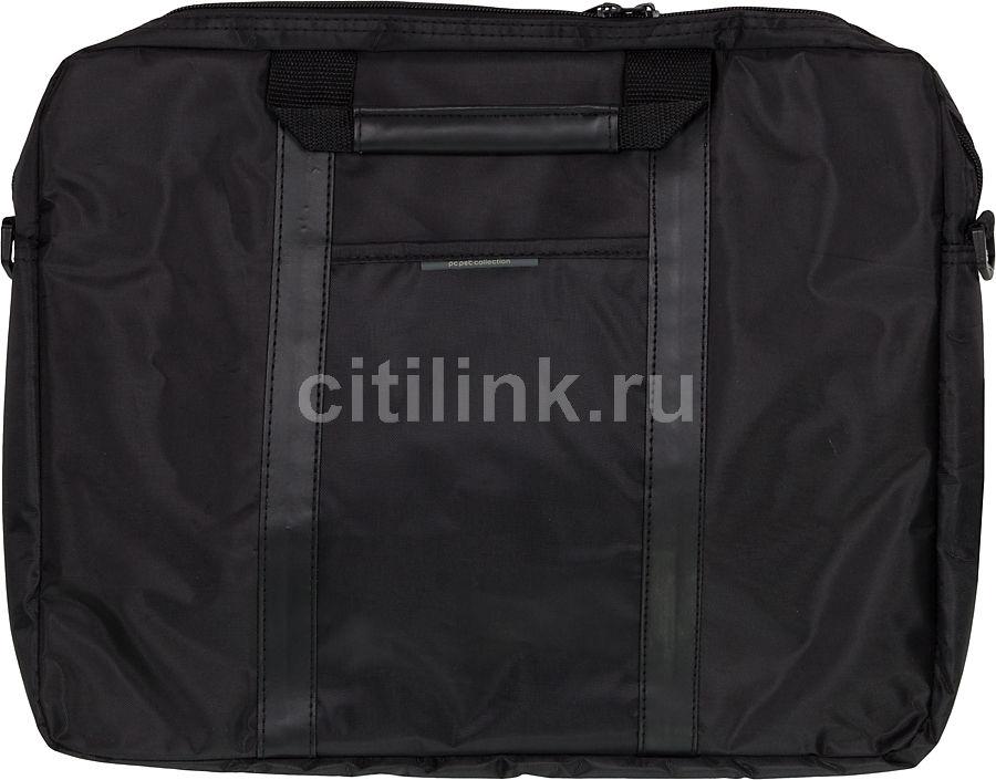 """Сумка для ноутбука 15.6"""" PC PET PCP-1003BK, черный"""