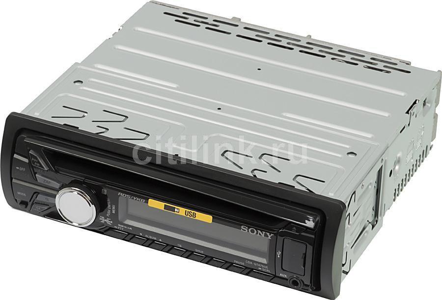 Автомагнитола SONY CDX-GT470UE,  USB