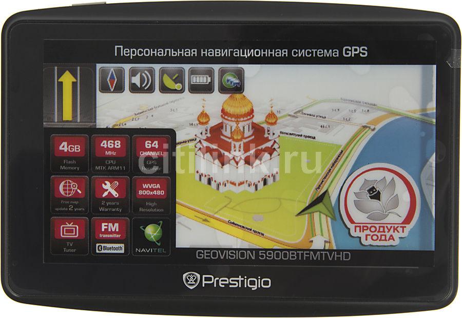GPS навигатор PRESTIGIO 5900BTFMTVHD,  5