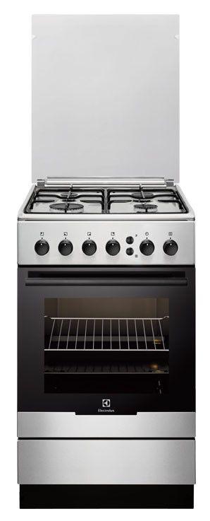 Газовая плита ELECTROLUX EKG51103OX,  газовая духовка,  серебристый