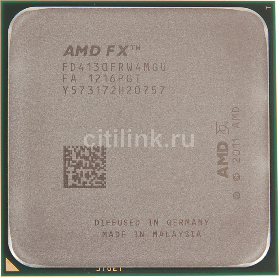 Процессор AMD FX 4130, SocketAM3+ BOX [fd4130frgubox]