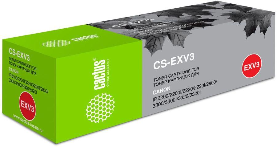 Картридж CACTUS CS-EXV3 черный