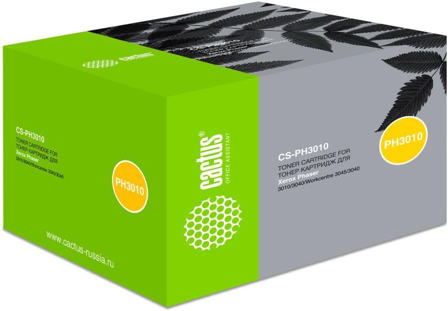 Картридж CACTUS CS-PH3010 черный