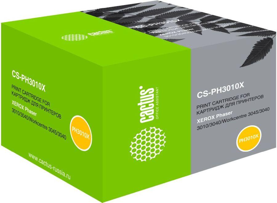 Картридж CACTUS CS-PH3010X 106R02183,  черный